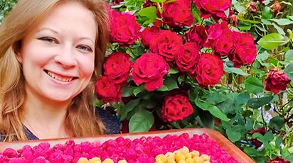 Мой цветочный рай. В гостях у покупателя Светланы Самойловой.