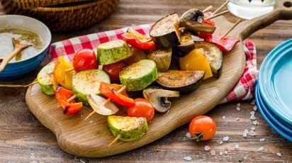 Овощи на гриле: секрет трех П