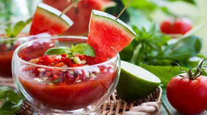 Томатный гаспачо — холодный витаминный суп для лета