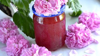 Рецепт приготовления ароматного варенья из лепестков роз