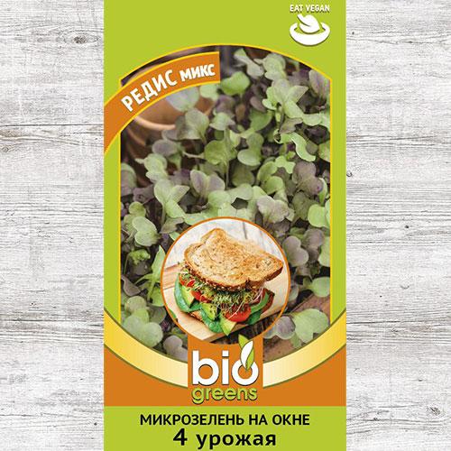 Микрозелень Редис микс, смесь семян изображение 1 артикул 69850