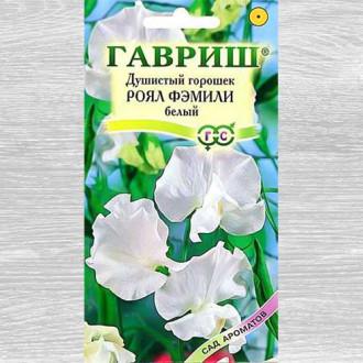 Душистый горошок Роял Фэмили белый изображение 8