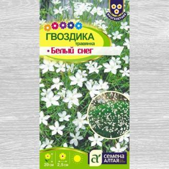 Гвоздика травянка Белый снег изображение 7