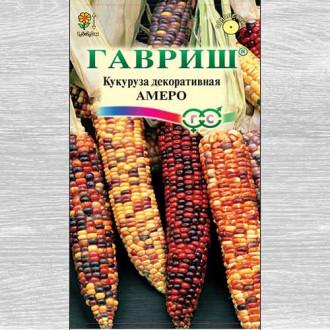 Кукуруза декоративная Амеро, смесь окрасок изображение 4