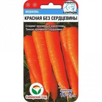 Морковь Красная без сердцевины изображение 5