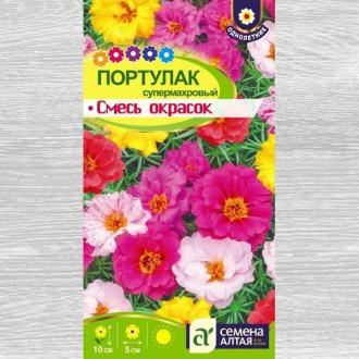Портулак Супермахровый, смесь окрасок изображение 6