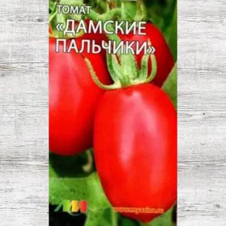 Томат Дамские пальчики красный