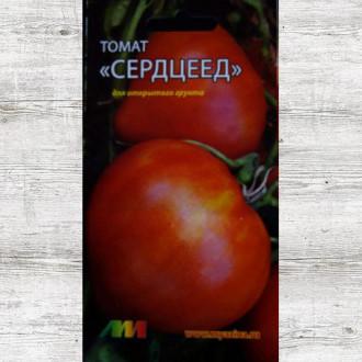 Томат Сердцеед красный низкорослый изображение 2