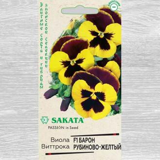 Виола Виттрока Барон рубиново-желтый F1 изображение 3