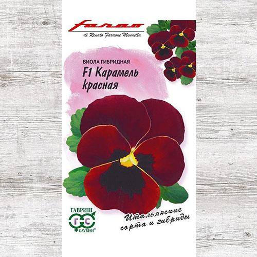 Виола Виттрока Карамель красная F1 изображение 1 артикул 71149